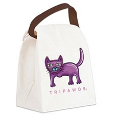 Tripawds Three Legged Cat Canvas Lunch Bag
