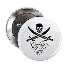 """Captain's Lady 2.25"""" Button"""
