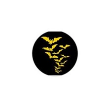 Yellow Bats Mini Button (10 pack)