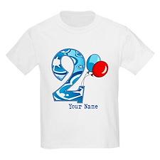 2nd Birthday Personalized T-Shirt