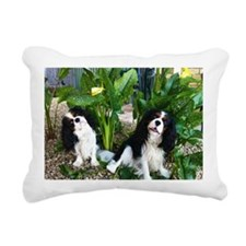 Ace & Charlie Rectangular Canvas Pillow