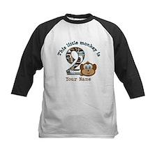 2nd Birthday Monkey Personalized Tee