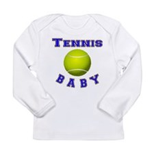 Tennis Baby Long Sleeve T-Shirt