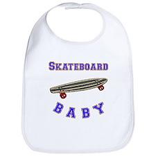 Skateboard Baby Bib
