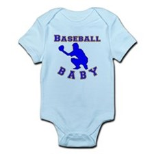Baseball Baby Body Suit
