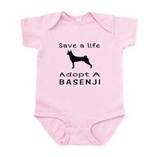 Adopt A Basenji Dog Infant Bodysuit