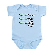 Crawl Walk Soccer Body Suit