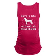 Adopt A Beauceron Dog Maternity Tank Top