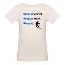 Crawl Walk Skiing T-Shirt