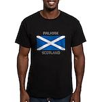 Falkirk Scotland Men's Fitted T-Shirt (dark)