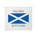 Falkirk Scotland Throw Blanket