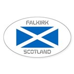 Falkirk Scotland Sticker (Oval 50 pk)
