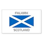 Falkirk Scotland Sticker (Rectangle 10 pk)