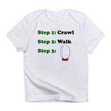 Crawl Walk Rugby Infant T-Shirt