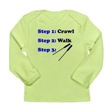 Crawl Walk Rowing Long Sleeve T-Shirt