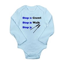 Crawl Walk Rowing Body Suit