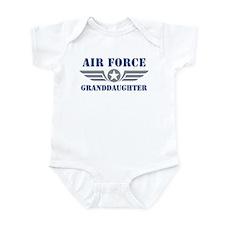 Air Force Granddaughter Infant Bodysuit