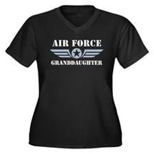 Air Force Granddaughter Women's Plus Size V-Neck D