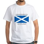 Grangemouth Scotland White T-Shirt