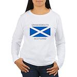 Grangemouth Scotland Women's Long Sleeve T-Shirt