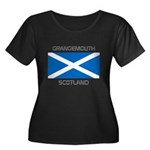 Grangemouth Scotland Women's Plus Size Scoop Neck