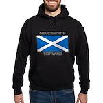 Grangemouth Scotland Hoodie (dark)