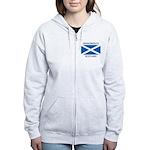 Grangemouth Scotland Women's Zip Hoodie