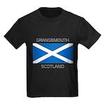 Grangemouth Scotland Kids Dark T-Shirt