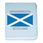 Grangemouth Scotland baby blanket