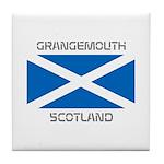 Grangemouth Scotland Tile Coaster