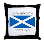 Grangemouth Scotland Throw Pillow
