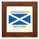 Grangemouth Scotland Framed Tile