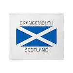 Grangemouth Scotland Throw Blanket