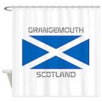 Grangemouth Scotland Shower Curtain