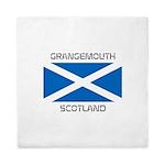 Grangemouth Scotland Queen Duvet