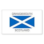 Grangemouth Scotland Sticker (Rectangle)