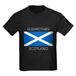 Glenrothes Scotland Kids Dark T-Shirt