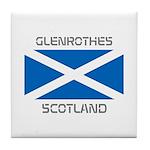 Glenrothes Scotland Tile Coaster