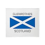 Glenrothes Scotland Throw Blanket