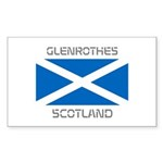 Glenrothes Scotland Sticker (Rectangle)