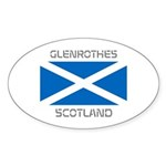 Glenrothes Scotland Sticker (Oval 10 pk)
