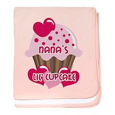Nana's Lil' Cupcake baby blanket
