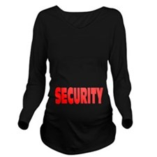 SECURITY Long Sleeve Maternity T-Shirt