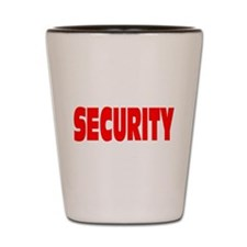 SECURITY Shot Glass