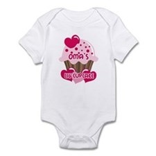Oma's Lil' Cupcake Infant Bodysuit