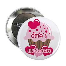 "Oma's Lil' Cupcake 2.25"" Button"