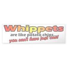 Whippet Potato Chip Bumper Bumper Sticker