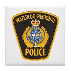 Waterloo Police Tile Coaster