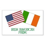 IRISH AMERICAN Rectangle Sticker