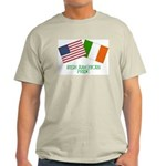 IRISH AMERICAN Ash Grey T-Shirt